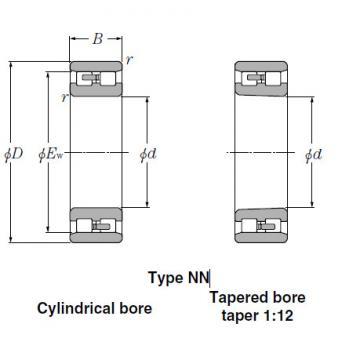 Bearings Cylindrical Roller Bearings NNU3048